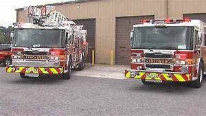 Lynchburg Fire Department Gets New Fire Trucks