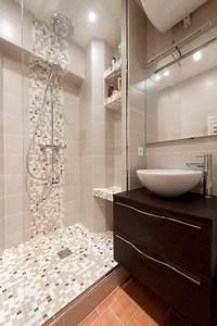 Petite Salle De Bain Avec Douche Italienne : idees salle de bain douche italienne ~ Carolinahurricanesstore.com Idées de Décoration