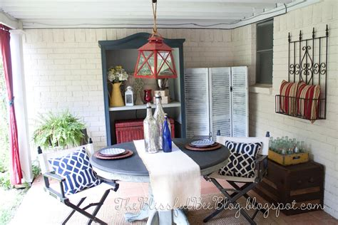 The Blissful Bee: Porch Makeover Round 2