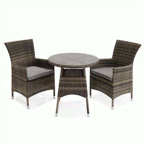 Small Outdoor Table And Chairs by Supremo Malaga Rattan Bistro Garden Table And Chairs