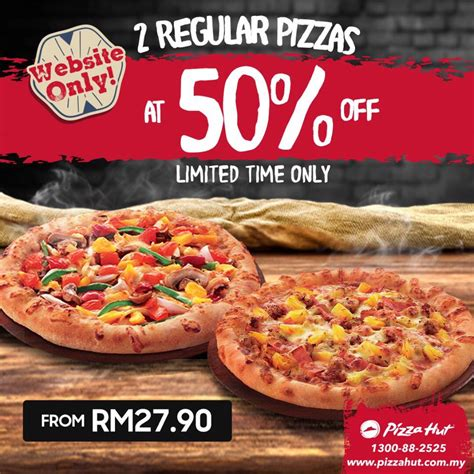 12024 Malaysia Coupon Website by Pizza Hut Malaysia Promotion 2017 50 Discounts Deal