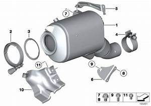 Bmw X5 Exch-diesel Particulate Filter