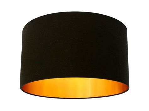 Gold Lined Lamp Shades by Finds Black And Gold Lampshade Homegirl London