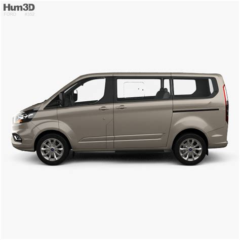 ford tourneo custom 2017 ford tourneo custom l1 2017 3d model hum3d