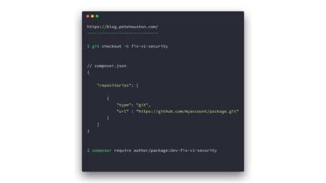 Require PHP packages without destroying whole dependencies ⋆ Pete Houston Blog