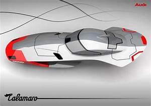 wordlessTech   Audi Calamaro concept flying car