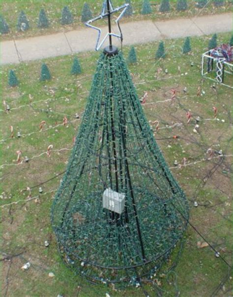 build and pvc christmas tree