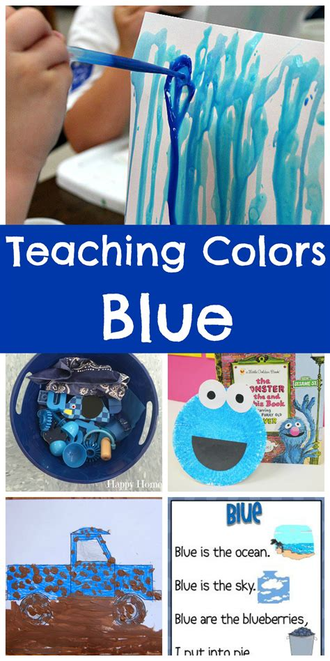 teaching colors blue happy home fairy