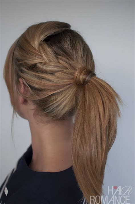 Easy Hairstyles For by Easy Hairstyles For Hair To Do At Home