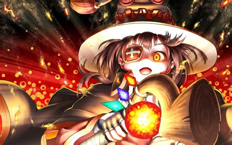 Megumin, Hd Anime, 4k Wallpapers, Images, Backgrounds