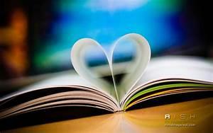 Love Book 4K Ultra Hd Desktop Wallpaper