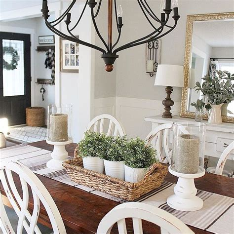 Decorating Ideas For Rustic Dining Room by Stunning Rustic Farmhouse Dining Room Decor Ideas 28