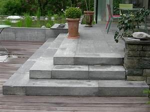 Blockstufen Beton Setzen : blockstufen selber verlegen gartentreppe aus stein selber bauen bau einer au entreppe aus ~ Orissabook.com Haus und Dekorationen