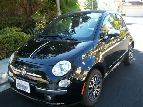 Fiat 500 San Diego by Purchase Used 2012 Fiat 500 Gucci Convertible In San Diego