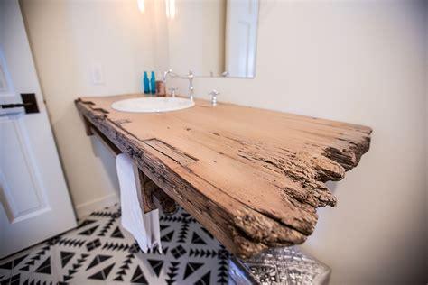 Barnwood Vanities by Floating Reclaimed Wood Bathroom Sink Base Porter Barn Wood