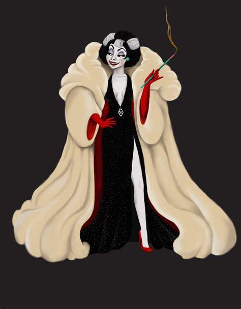 Cruella De Vil By Katifisen On Deviantart