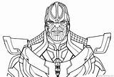 Thanos Avengers Coloring Infinity Pages War Drawing Fortnite Printable Line Marvel End Thor Easy Adults Hulk Sketch Paper Brother Battle sketch template