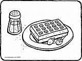 Waffle Colouring Kleurplaat Malvorlage Wafel Waffel Ausmalbild Gaufre Kleurplaten Coloring Sucre Glace Kiddicolour Avec Fraises Martin Aardbeien Bloemsuiker Erdbeeren Dessin sketch template