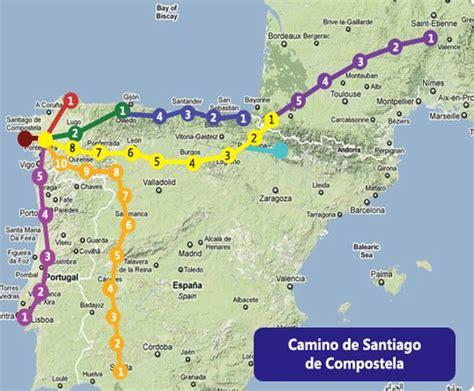 camino pilgrimage map camino pilgrimage to spain suntravel world