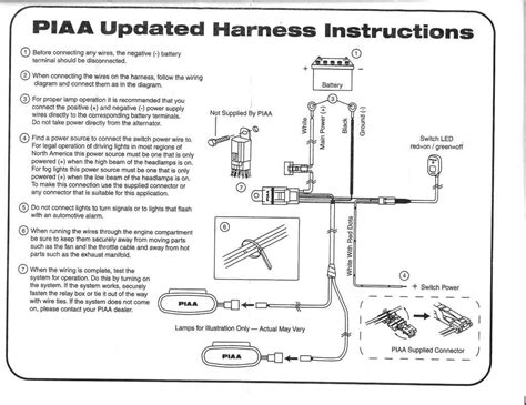 Piaa 520 Wiring Diagram wiring diagram for piaa lights wiring library