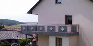Edelstahl Sichtschutz Metall : balkonbau und balkongel nder aus kunststoff aluminium oder edelstahl online kalkulator ~ Orissabook.com Haus und Dekorationen