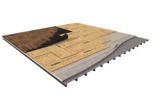 advantech 174 panels ideal for two layer floating subfloor applications huber engineered woods