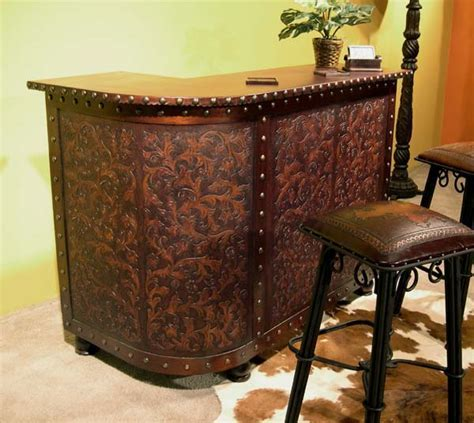 Tooled Leather Bar: Western Passion
