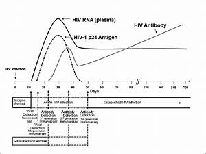 Sequence Of Appearance Of Laboratory Markers For Hiv