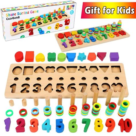 stock shape sorter game  age     year