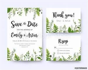 wedding invite invitation menu rsvp thank you card vector With wedding invitations templates coreldraw