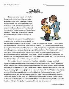The Bully - Reading Comprehension Worksheet