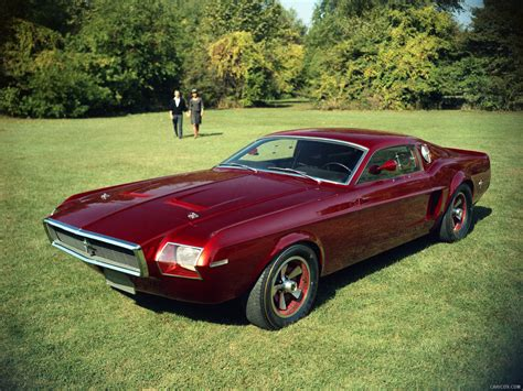 1966 Ford Mustang Mach I Concept Front Hd Wallpaper 1