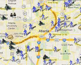 ga offender map atlanta offenders map noticed groups gq
