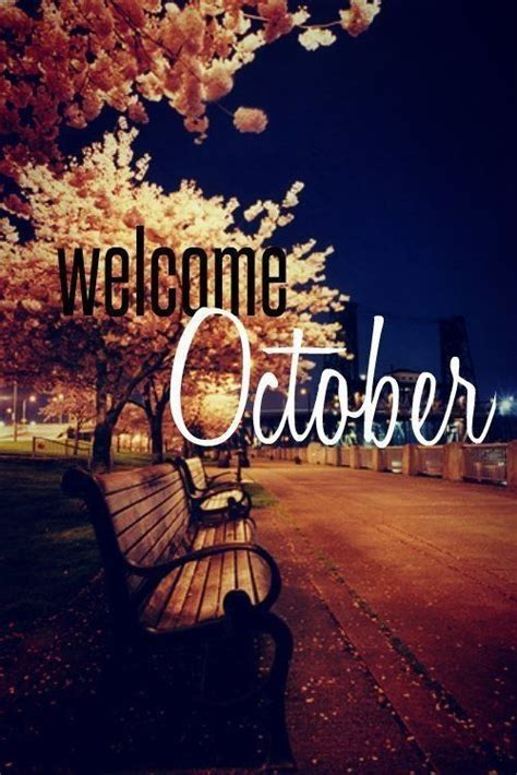 Welcome October Quotes Logo Quotesgram