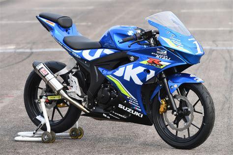 Motor Suzuki by Suzuki Gsx R150 Jadi Motor Balap Suzuki Asian Challenge