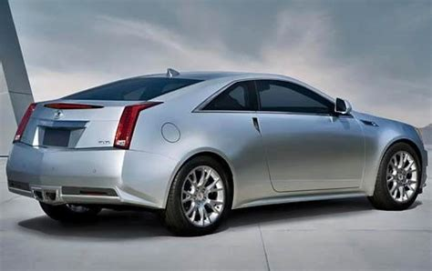 2011 cadillac cts coupe information and photos zomb drive