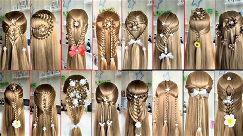 top  easy hairstyles  long hair beautiful