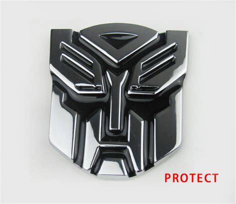Dhula Car Decoration Hd Images by 3d Autobot Transformers Emblem Badge Graphics Decal Car
