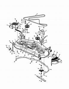 Husqvarna Gt2254 Drive Belt Diagram
