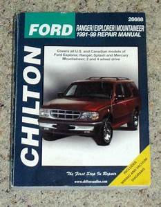 Ford Explorer Repair Manual
