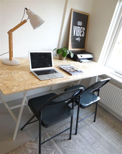 diy bureau werkkamer inrichten diy bureau klapstoelen livelovehome