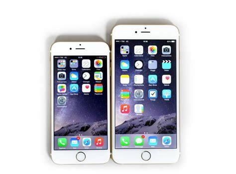 iphone 6 or 6 plus anteprima iphone 6 e iphone 6 plus ergonomia batteria e