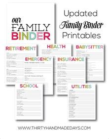 wedding planner notebook printable updated family binder