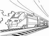 Coloring Caboose Train Getdrawings sketch template