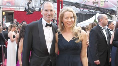 laurene powell jobs young steve jobs widow calls the new movie fiction