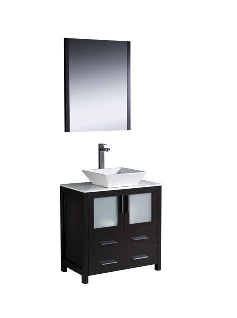 30 inch bathroom sink 30 inch vessel sink bathroom vanity in espresso