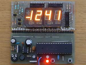 Panaplex Flat Display Clock