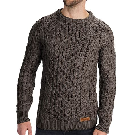 knit sweaters peregrine by j g aran knit sweater merino wool