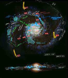 Known Galaxies Map - Pics about space