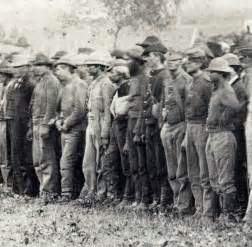 Civil War Confederate Soldiers Prisoners